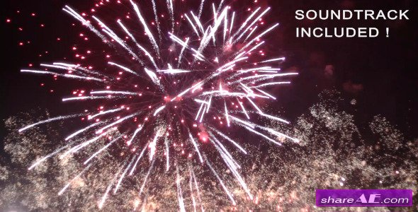 Spectacular Fireworks With Music Motion Graphic Videohive 807718 From A Professional