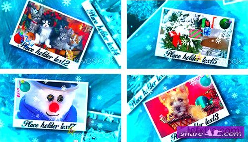 Cristmas Photos - After Effects Project (Revostock)
