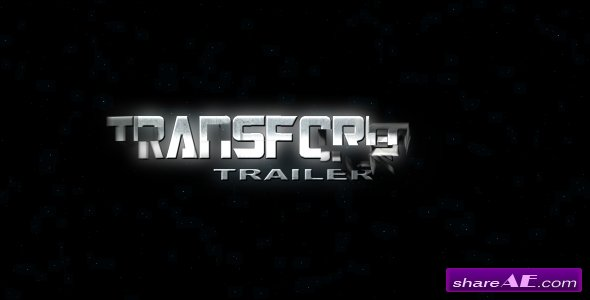 Transformer Trailer - After Effects Project (Videohive)