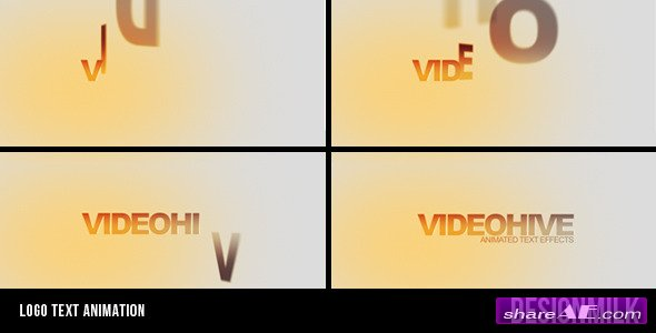 Logo text animation - After Effects Project (Videohive)