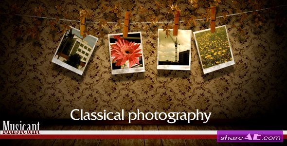 Classical photography - After Effects Project (Videohive)