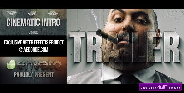 Cinematic Intro / Action Movie Trailer - After Effects Project (Videohive)