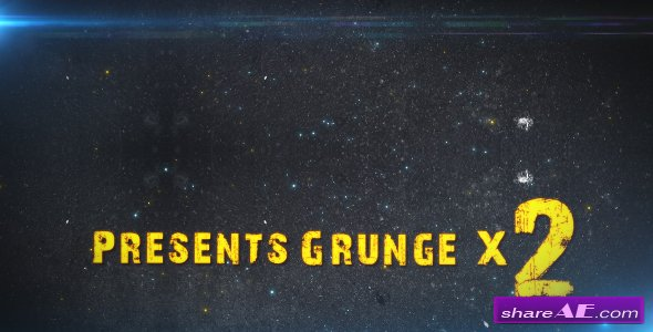 Grunge X2 - Project For After Effects (Videohive)