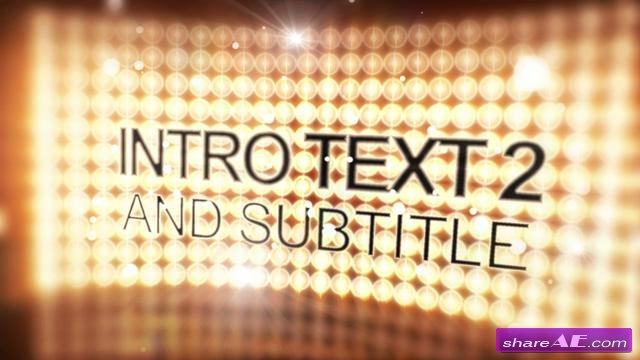 Celebrity Glamour Curved Light Wall - After Effects Project (VideoHive)