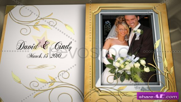 Wedding Book - After Effects Project (Revostock)