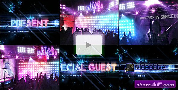 Star Dances 2 - After Effects Project (Videohive)