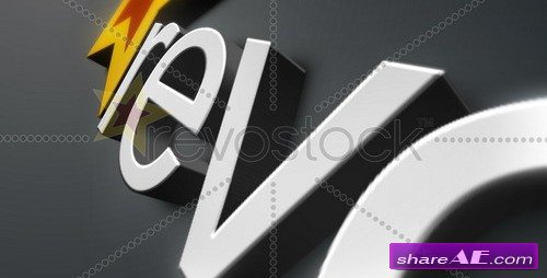 3d logo animation v2 after effects project revostock