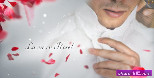 La Vie en Rose - Wedding template - After Effects Project (Videohive)