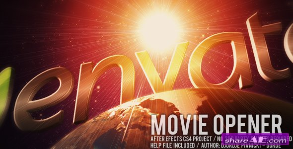 Movie Opener - After Effects Project (Videohive)