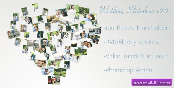 Wedding Slideshow v2.0 - After Effects Project (Videohive)
