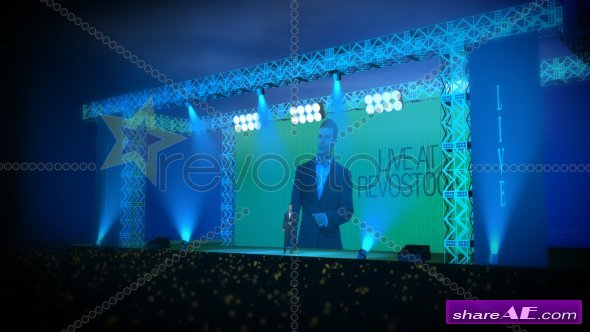 Live In Concert - After Effects Project (Revostock)