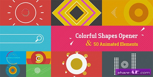 Shape Elements v2 2 7826596 - After Effects Project (Videohive
