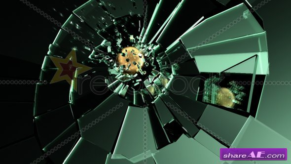 Glass Shatter - After Effects Project (Revostock) » Free After ...