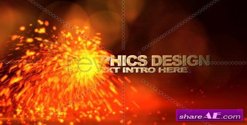 Sparks Transformation Intro FX - After Effects Project (Revostock)
