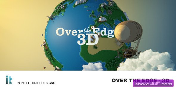 Over The Edge - 3D  - After Effect Project (Videohive)