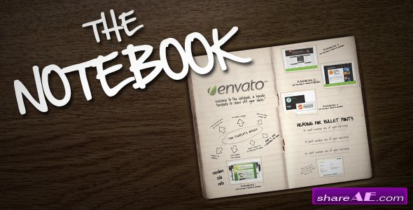 The Notebook - After Effects Project (Videohive)