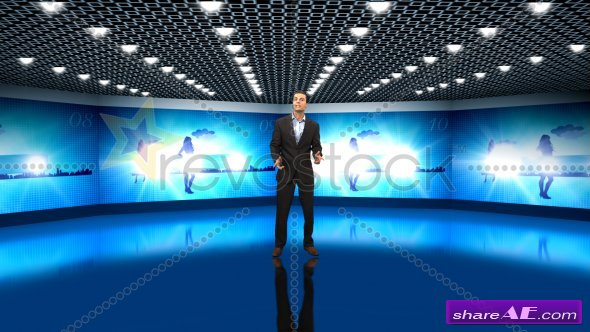Virtual Studio (Pro) - After Effects Project (Revostock)