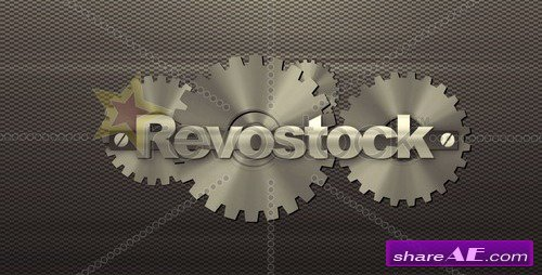Gold & Black Metal (Bumper) - After Effects Project (Revostock)