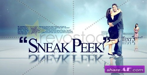 Sneak Peek - After Effects Project (Revostock)
