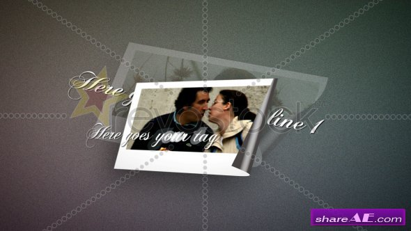 Photo Collage & Letter - After Effects Project (Revostock)