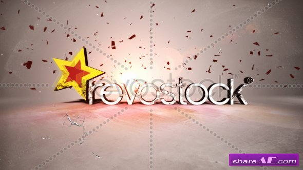 Damaged Hot 3D Titles - After Effects Project (Revostock)