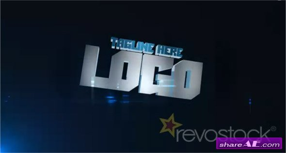 Audio Extruded Logo - After Effects Project (Revostock)