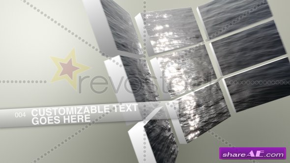 Simply Perfect Videowall - After Effects Project (Revostock)
