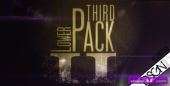 Lower Third Pack Vol.2 FullHD - After Effects Project (Videohive)
