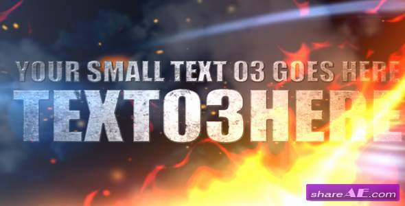 Explosion In Hell - After Effects Project (Videohive)