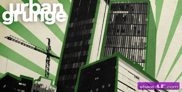 Urban Grunge - After Effects Project (Videohive)