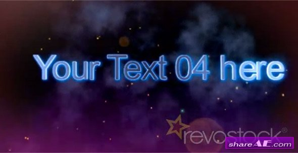 Text and Picture Formation - After Effects Project (Revostock)