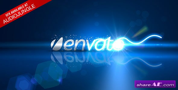 Light Scribble Logo - CS3 - After Effects Project (Videohive)