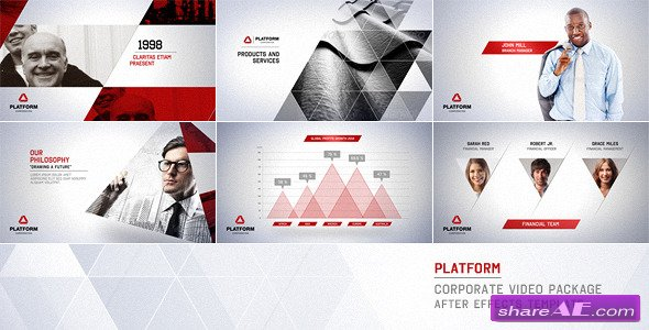 videohive corporate business package » free after effects, Powerpoint templates