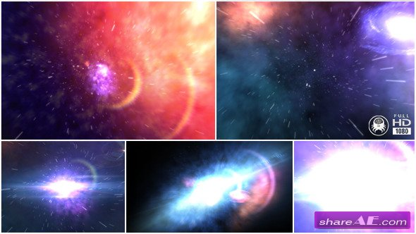Through The Universe - After Effects Project (Videohive)