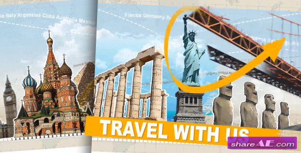 Travel With Us - Tv Pack - After Effects Project (Videohive)