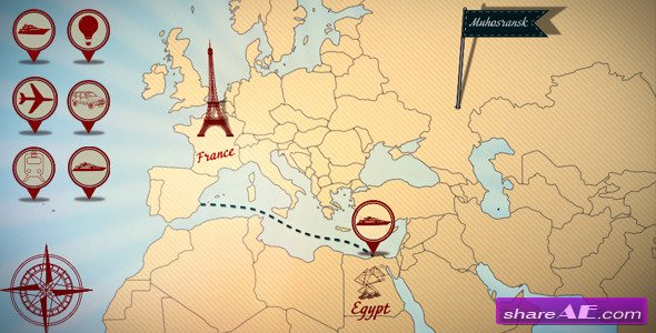 Videohive world map 18811993 free after effects templates related posts gumiabroncs Image collections