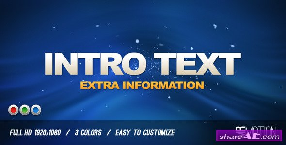 News Media Promo - After Effects Project (Videohive)