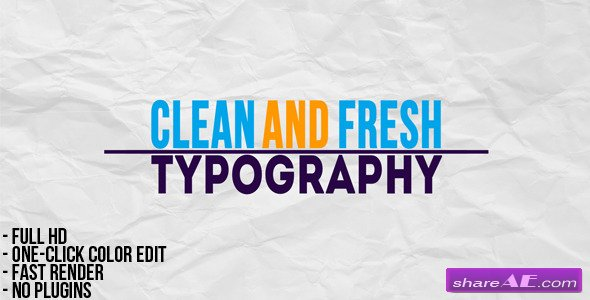 Videohive Stomp 2 - Typographic Intro » free after effects templates ...