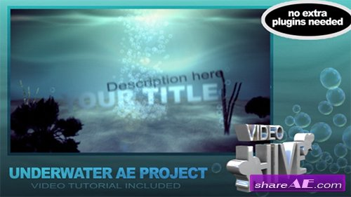 Tropical Underwater Title - After Effects Project (Videohive)