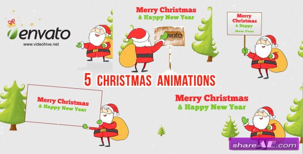 Christmas Wishes Santa - After Effects Project (Videohive)