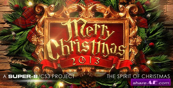 The Spirit of Christmas - After Effects Project (Videohive)