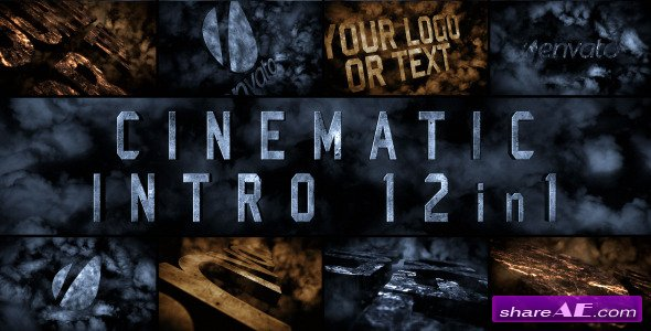 Cinematic Intro 12in1 - After Effects Project (Videohive)
