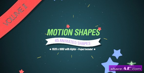 Motion Shapes Vol.2 - Motion Graphic (Videohive)