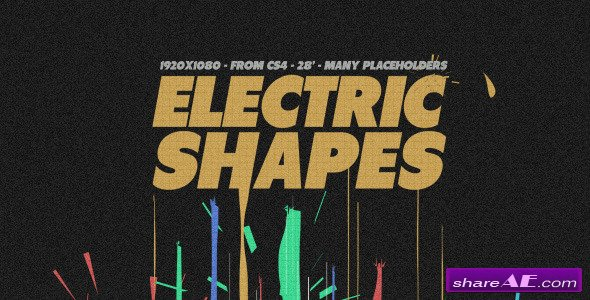 Electric Shapes - After Effects Project (Videohive)
