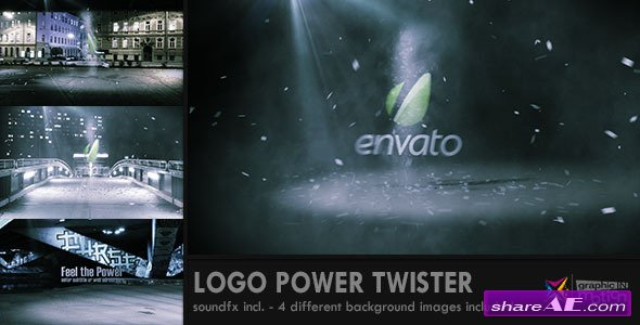 Logo Power Twister - After Effects Project (Videohive)