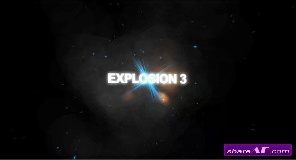 Trapcode Explosions - After Effects Project (Revostock)