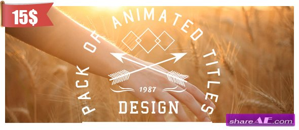 New Titles Collection - After Effects Project (Videohive)