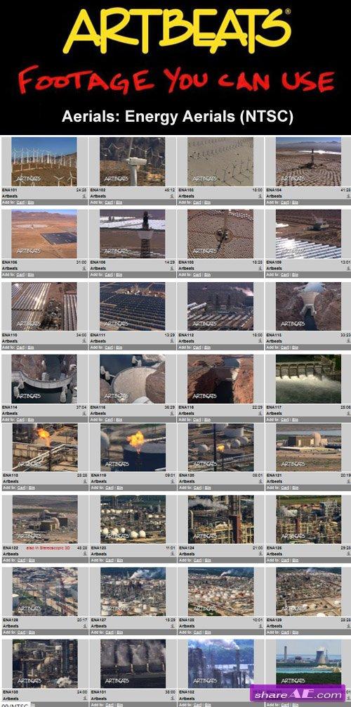 Artbeats - Aerials: Energy Aerials (NTSC)