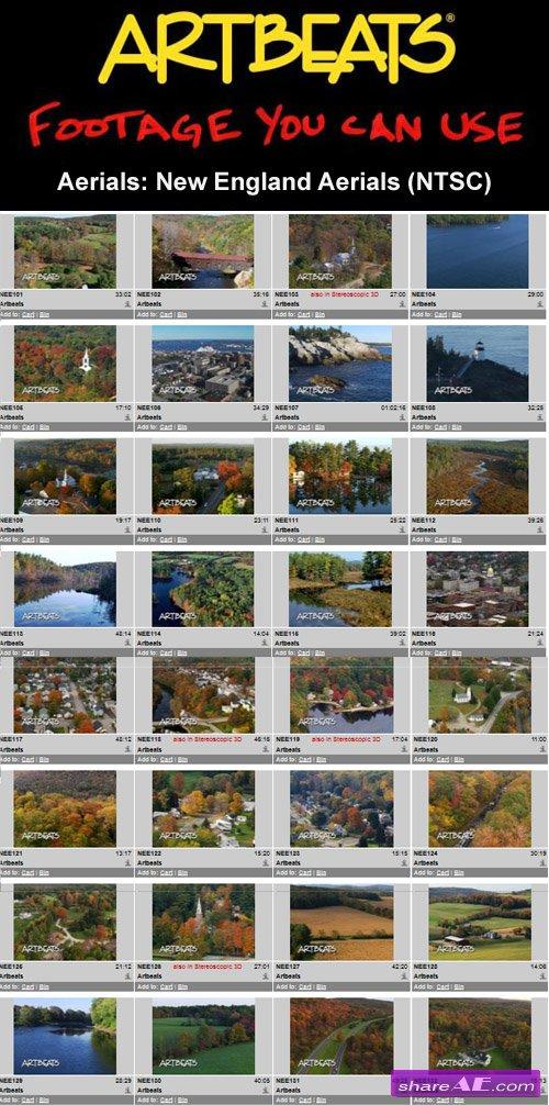 Artbeats - Aerials: New England Aerials (NTSC)
