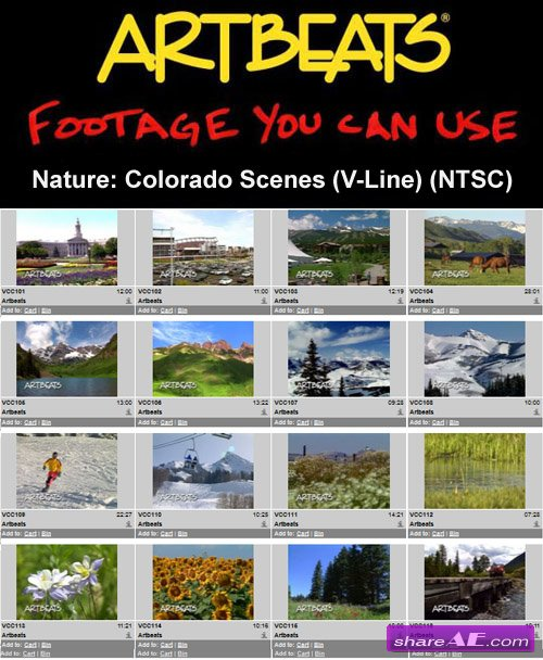 Artbeats - Nature: Colorado Scenes (V-Line) (NTSC)